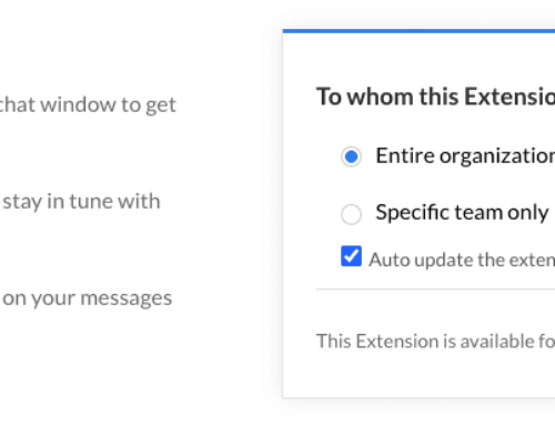 Zoho Projects extension for Zoho Cliq to project status